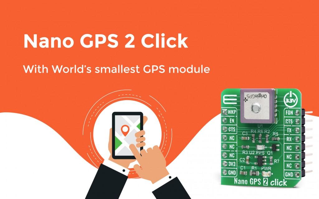 Nano GPS 2 Click
