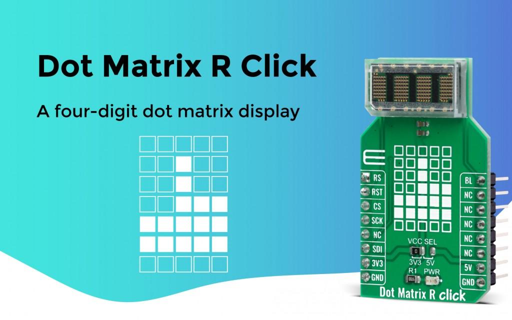 Dot Matrix R Click
