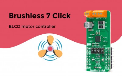Brushless 7 Click