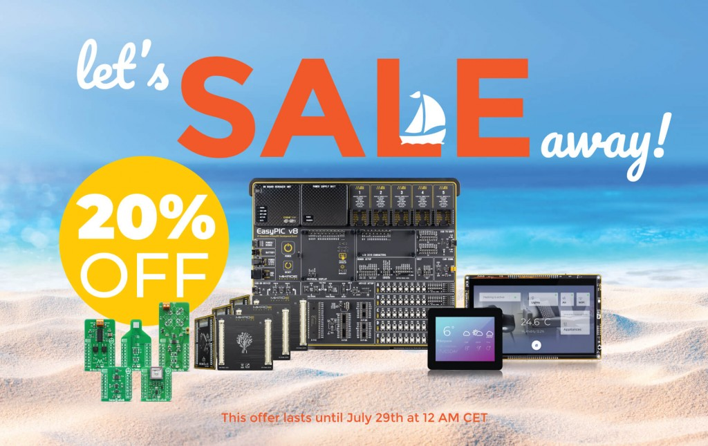 The SALE is on -  20% OFF on 1600+ products
