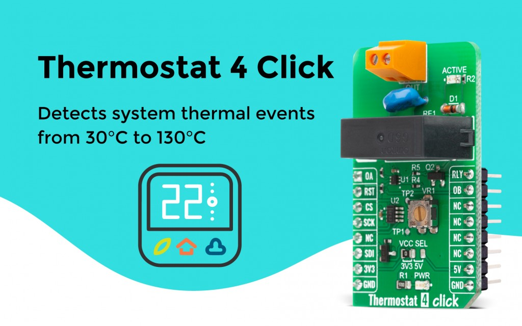 Thermostat 4 Click