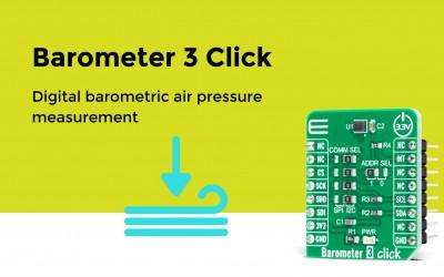 Barometer 3 Click