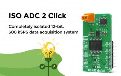ISO ADC 2 Click