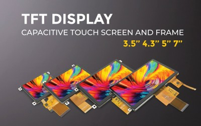 4 new TFT Color Display with Touch Screen and Frame