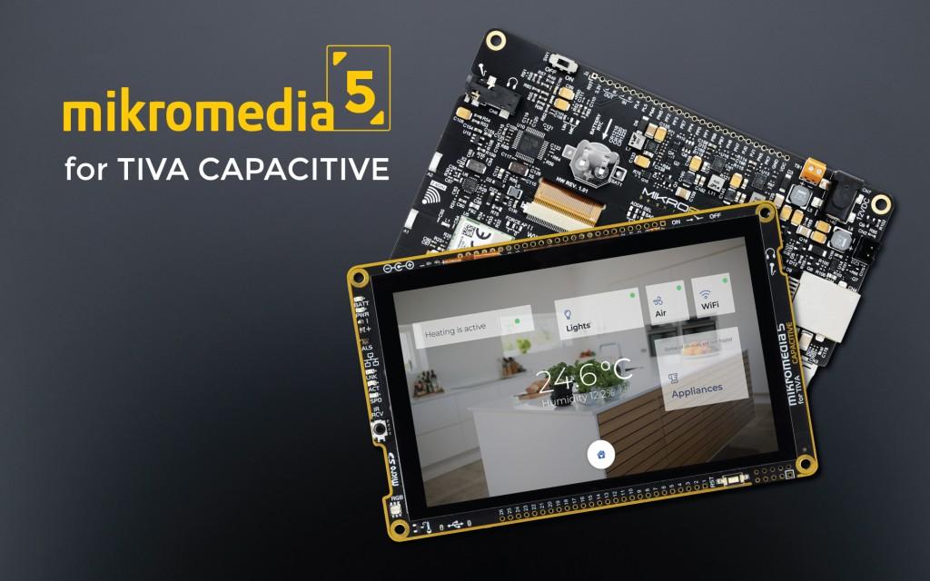 mikromedia 5 for TIVA CAPACITIVE