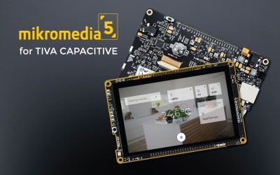 mikromedia 5 for TIVA CAPACITIVE