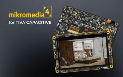 mikromedia 4 for TIVA CAPACITIVE