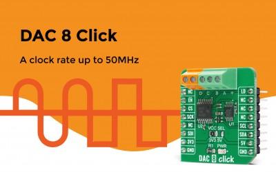 DAC 8 Click