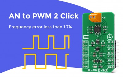 AN to PWM 2 Click
