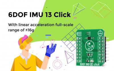 6DOF IMU 13 Click