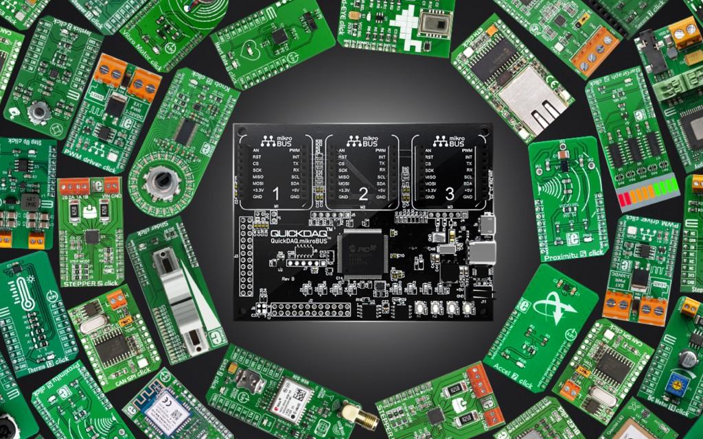 QuickDAQ.mikroBUS™ Next Generation Development System