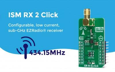 ISM RX 2 Click