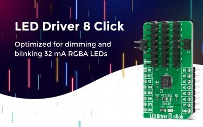 LED Driver 8 Click