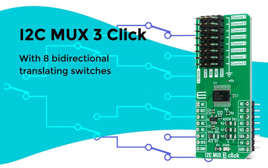 I2C MUX 3 Click