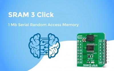 SRAM 3 Click