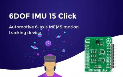6DOF IMU 15 Click