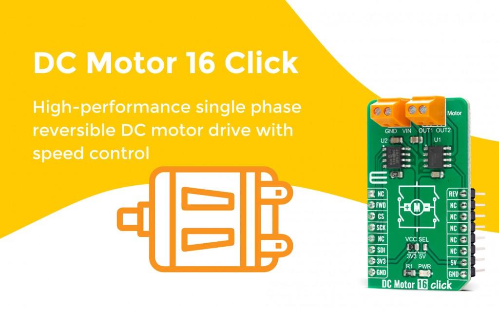 DC Motor 16 Click