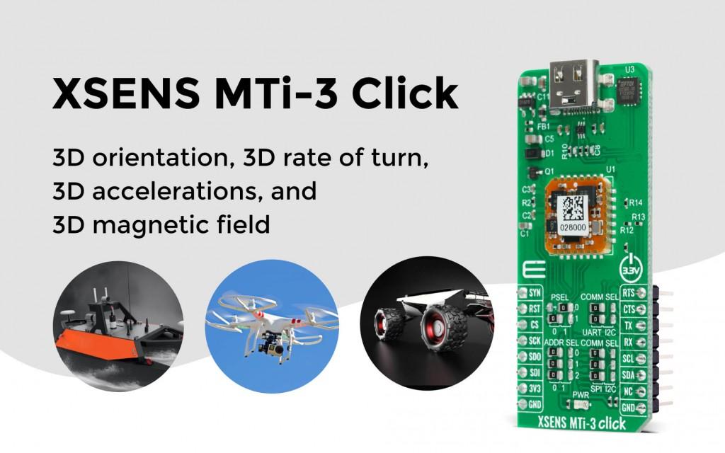 XSENS MTi-3 Click