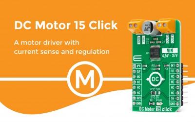 DC Motor 15 Click