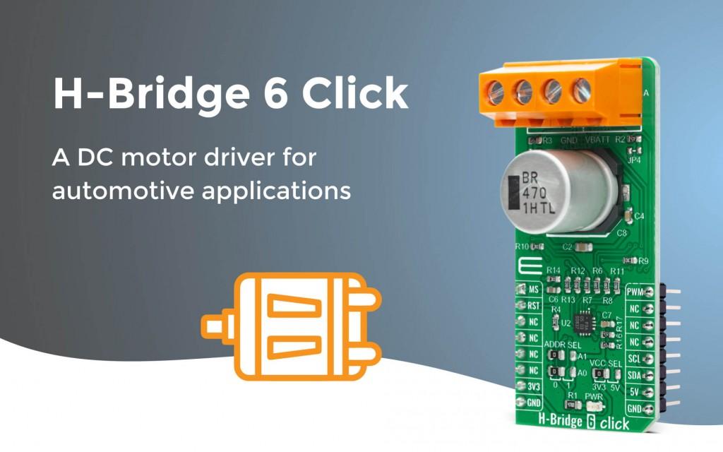 H-Bridge 6 Click