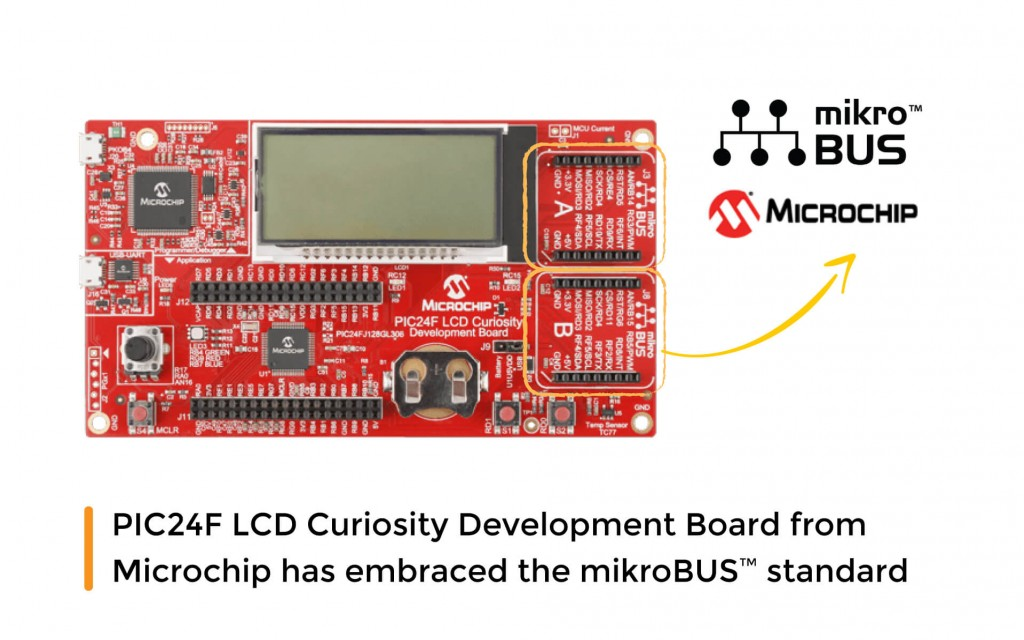 One more board from Microchip has embraced the mikroBUS™ standard