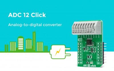 ADC 12 Click