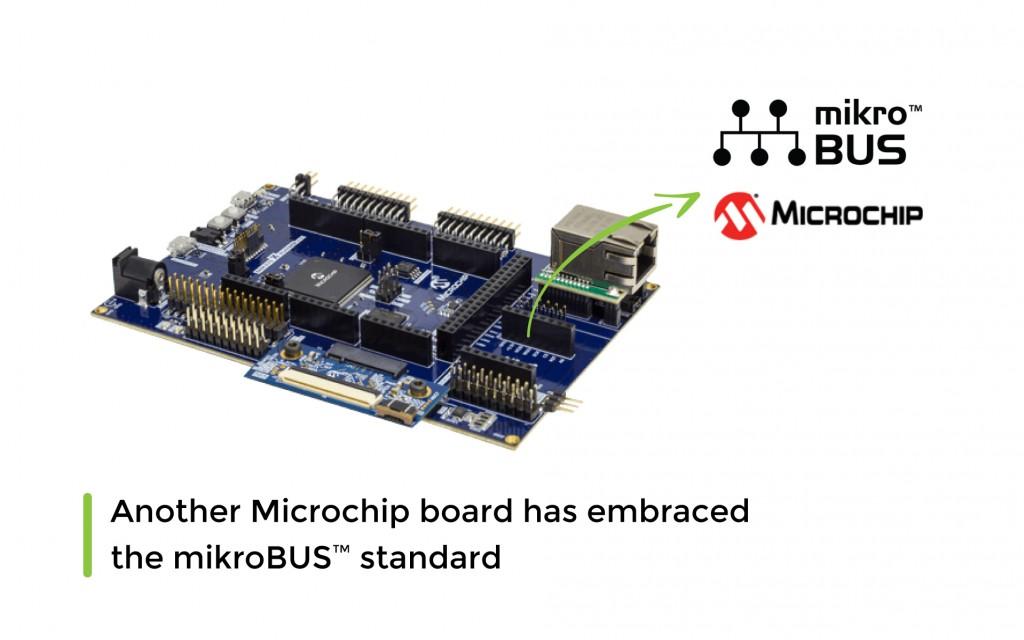 ATSAME70-XULT Development boardfromMicrochip has embraced the mikroBUS™ standard