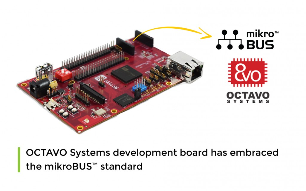 First board from OCTAVO Systems that has embraced the mikroBUS™ standard