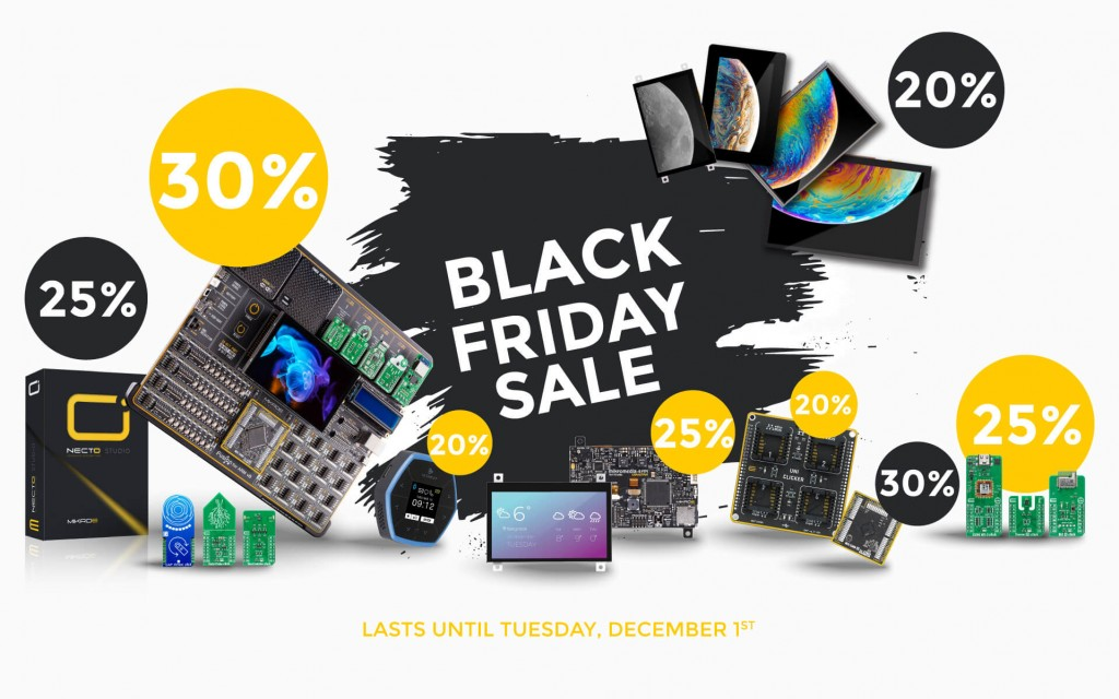 BLACK FRIDAY SALE STARTS NOW!