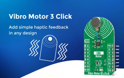 Vibro Motor 3 Click