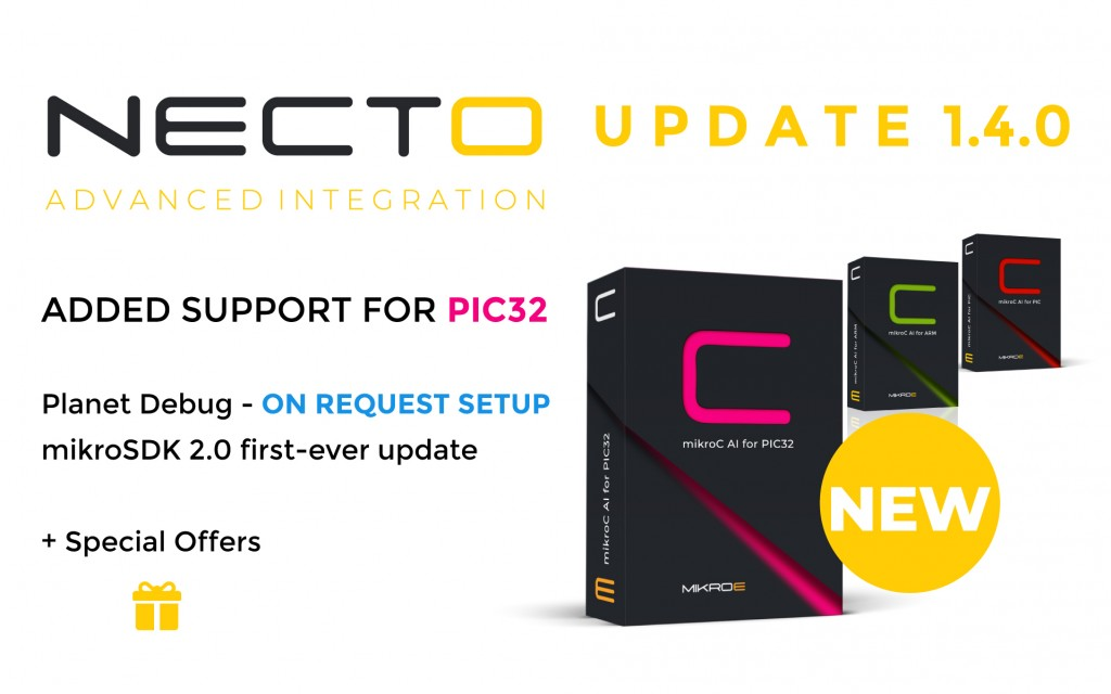 NECTO Studio Update 1.4.0