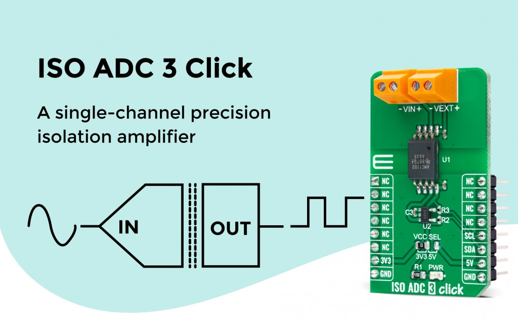 ISO ADC 3 Click