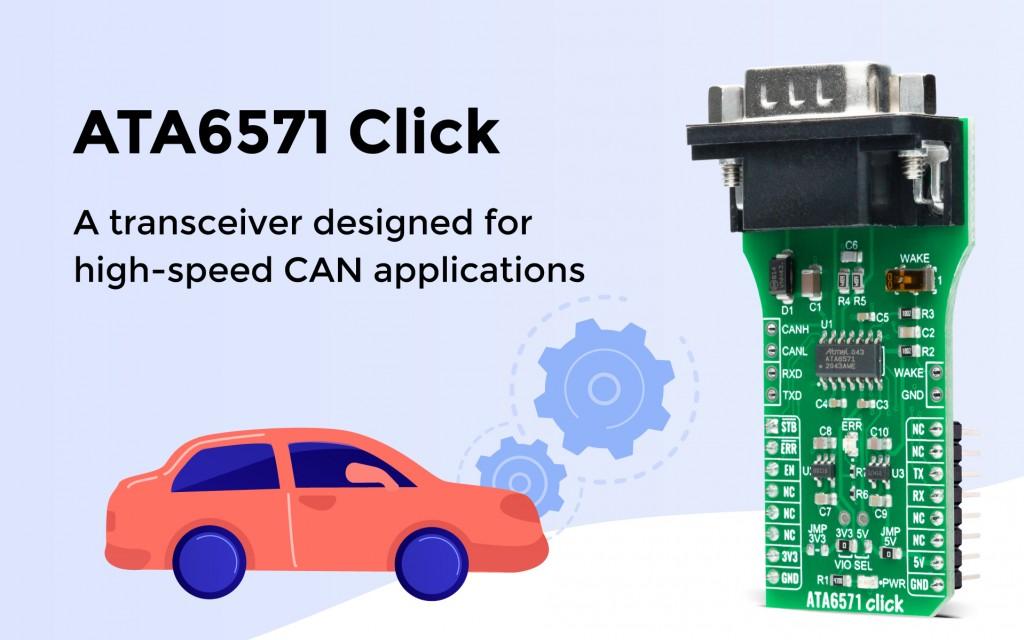 ATA6571 Click
