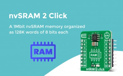 nvSRAM 2 Click