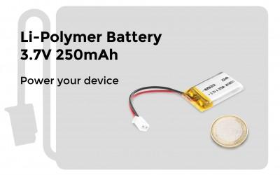 Li-Polymer Battery 3.7V 250mAh