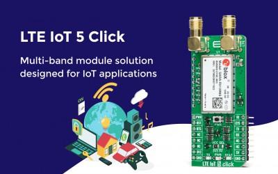 LTE IoT 5 Click