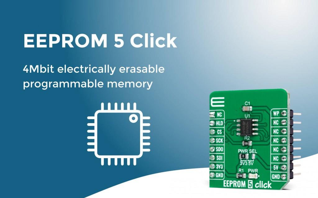 EEPROM 5 Click