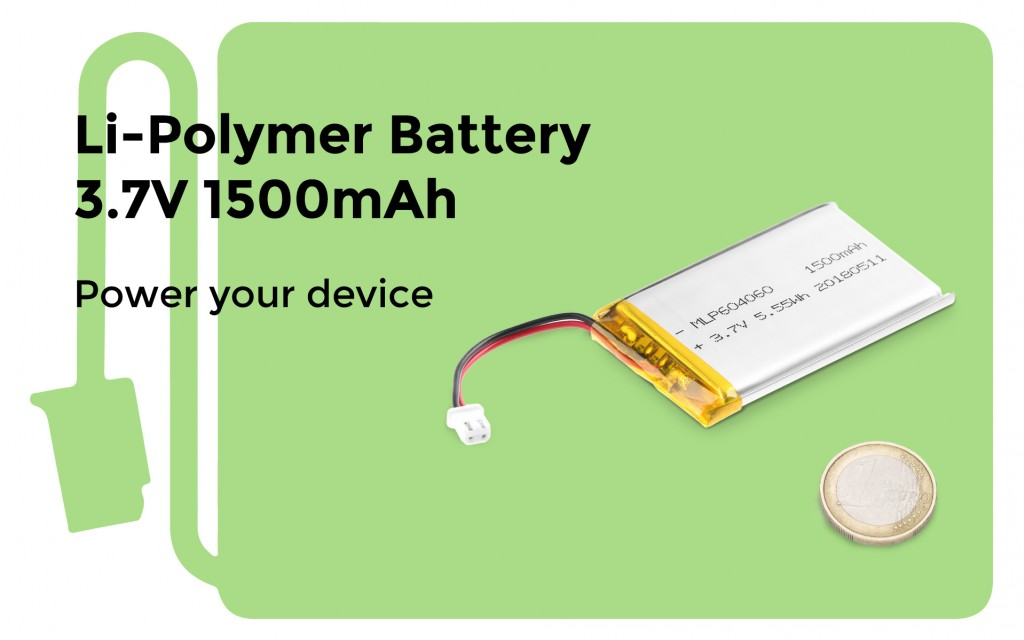 Li-Polymer Battery 3.7V 1500mAh