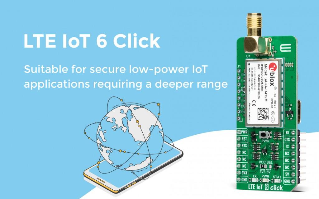 LTE IoT 6 Click