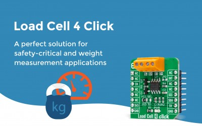 Load Cell 4 Click