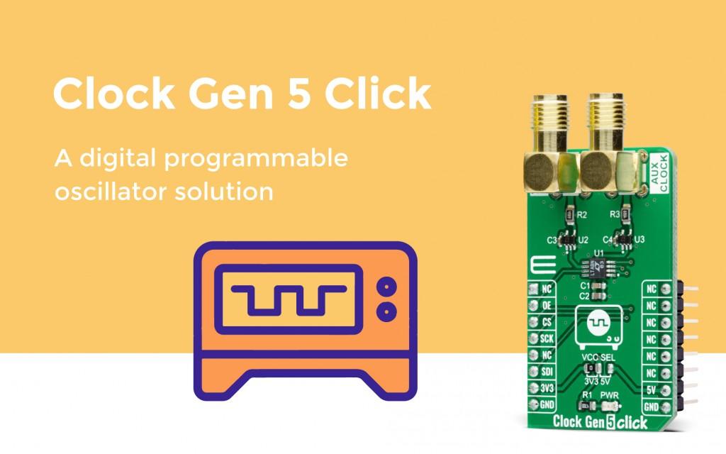 Clock Gen 5 Click