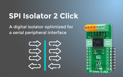 SPI Isolator 2 Click