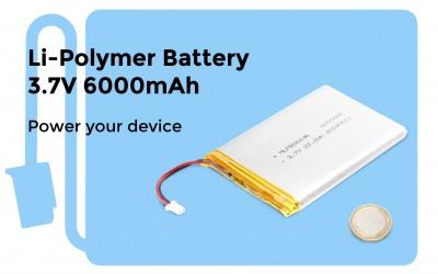 Li-Polymer Battery 3.7V 6000mAh