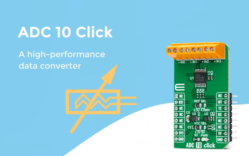 ADC 10 Click