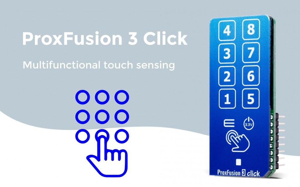 ProxFusion 3 Click