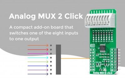 Analog MUX 2 Click