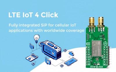LTE IoT 4 Click