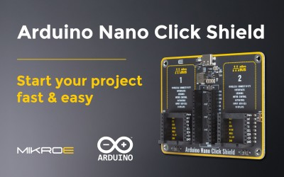 Arduino Nano Click Shield