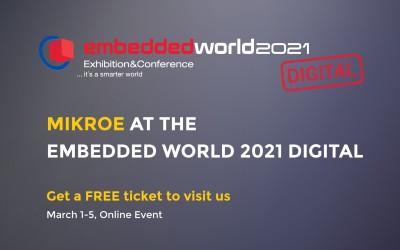 We're attending embedded world 2021 DIGITAL!