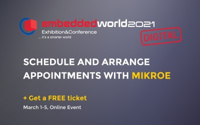Meet us at the embedded world 2021 DIGITAL